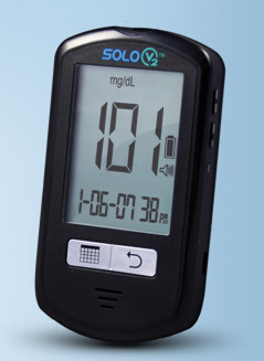 picture of Solo Blood Glucose monitoring system